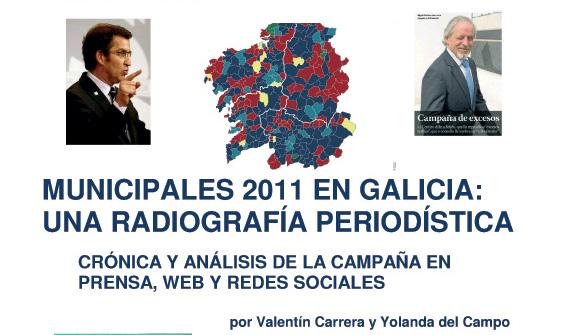 eBook: Municipales 2011 en Galicia: una radiografía periodística de Valentín Carrera y Yolanda del Campo