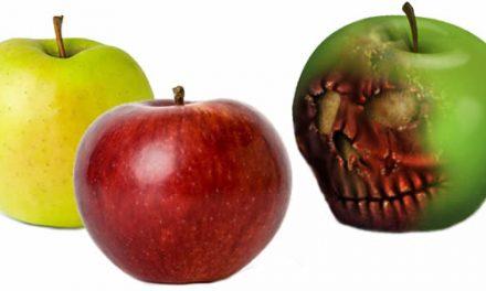 Las manzanas podridas