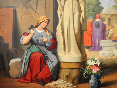 Masonas, de la renacentista Yolanda Alba