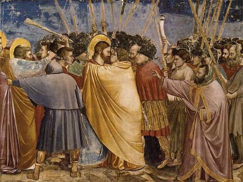 Tomás y el beso de Judas