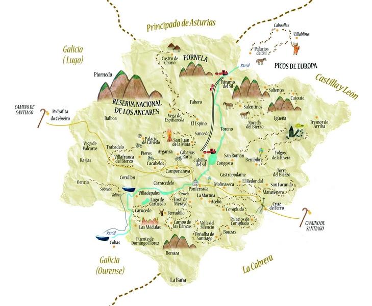 Viaje interior por la provincia del Bierzo