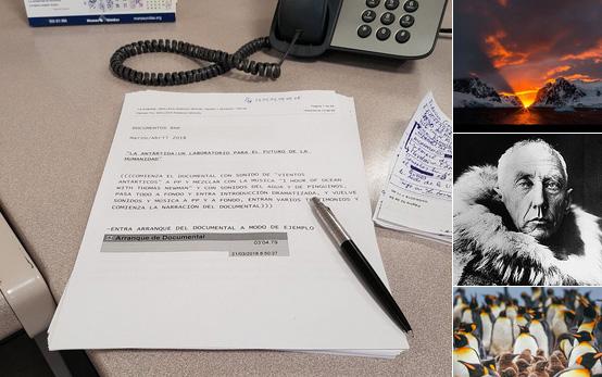 """Documentos RNE: """"La Antártida: Un Laboratorio para el Futuro de la Humanidad"""""""