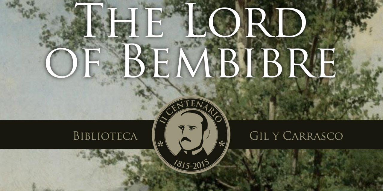 La traducción al inglés pone El Señor de Bembibre al alcance de millones de lectores