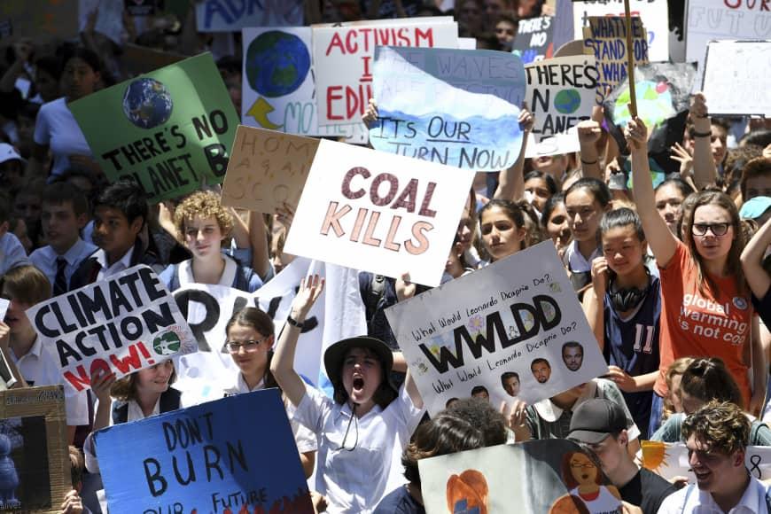 La juventud del mundo se moviliza por el clima