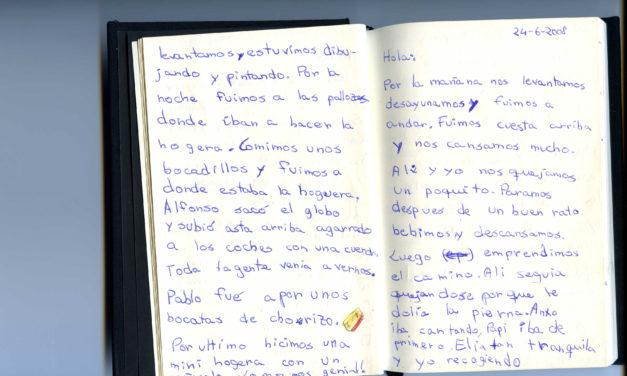 Un cuaderno de campo