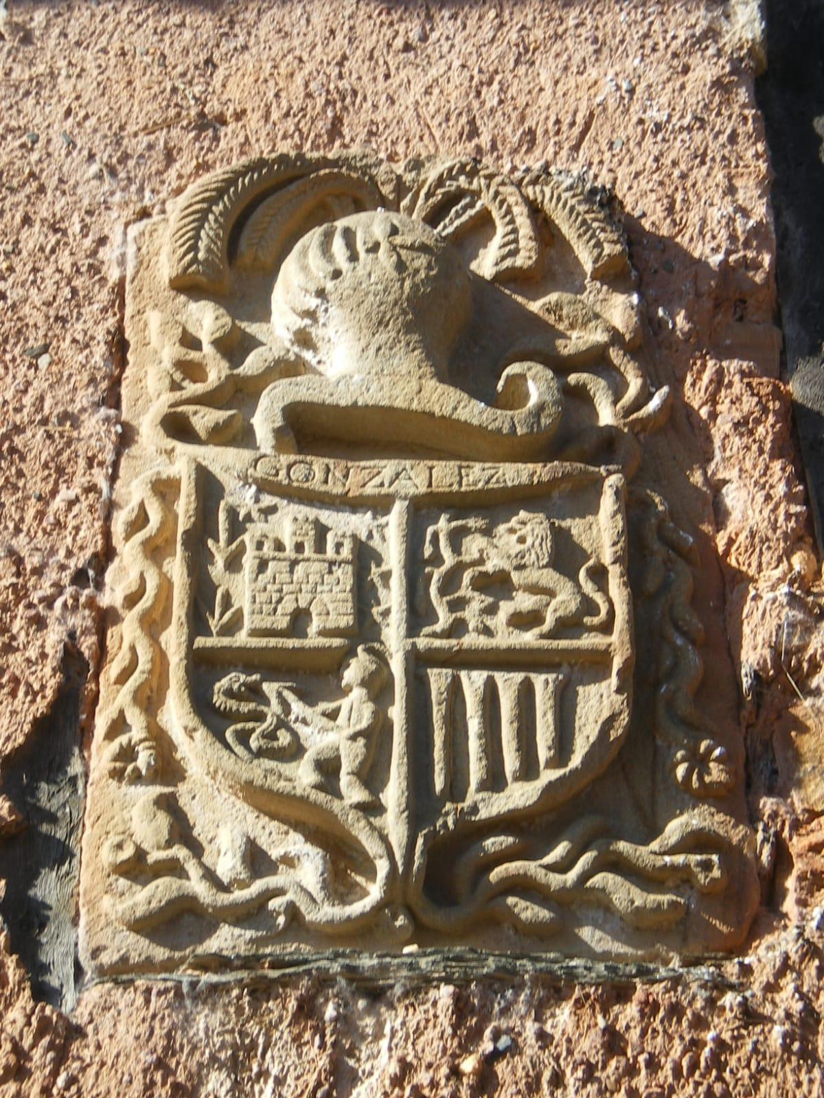 Escudo de los González de Rodanillo siglo XVIII