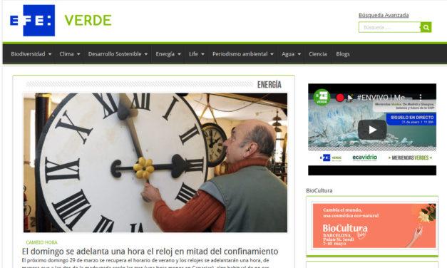 EfeVerde: Diez años de oxígeno en periodismo ambiental