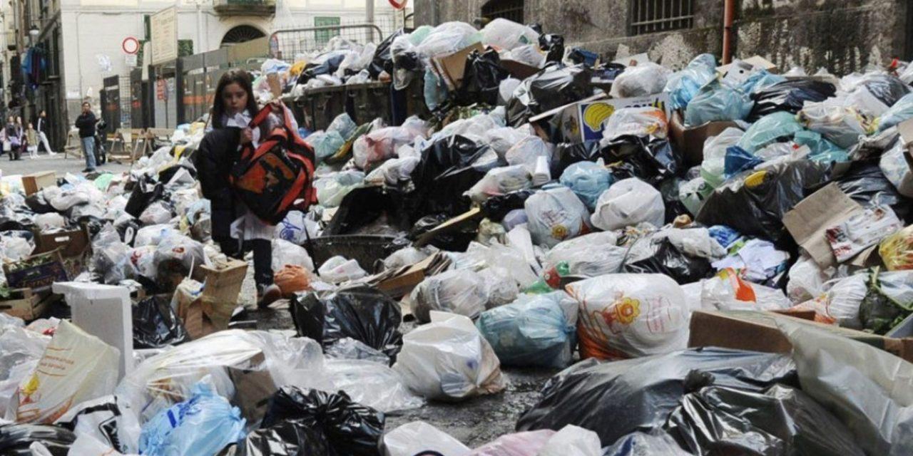 La basura y la mafia