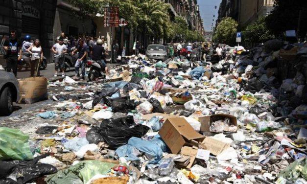 La basura y la mafia: saludos a Vito Corleone